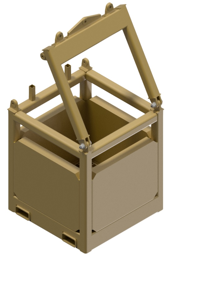 Image of a Basket, model 1